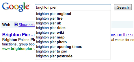google searching brighton pier