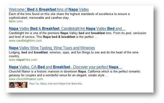 Bing Includes Facebook 'Likes' into Search Results