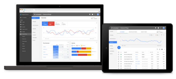 AdWords Gets A Mobile Re-Design