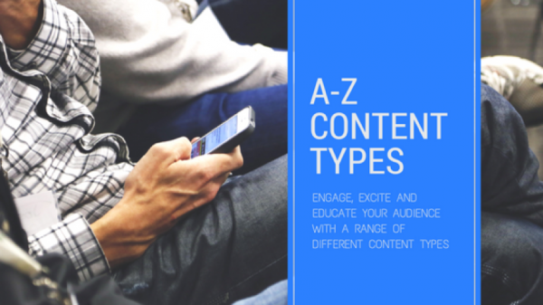 A-Z of content types