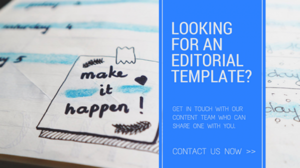 Free editorial template