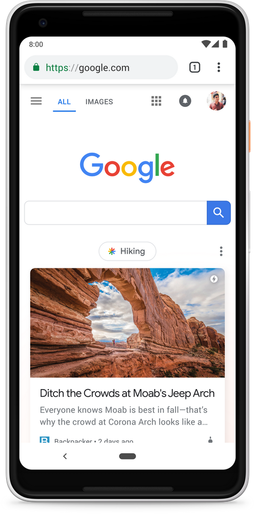 google-discover-homepage