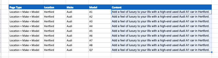 Content Conventions Example 5