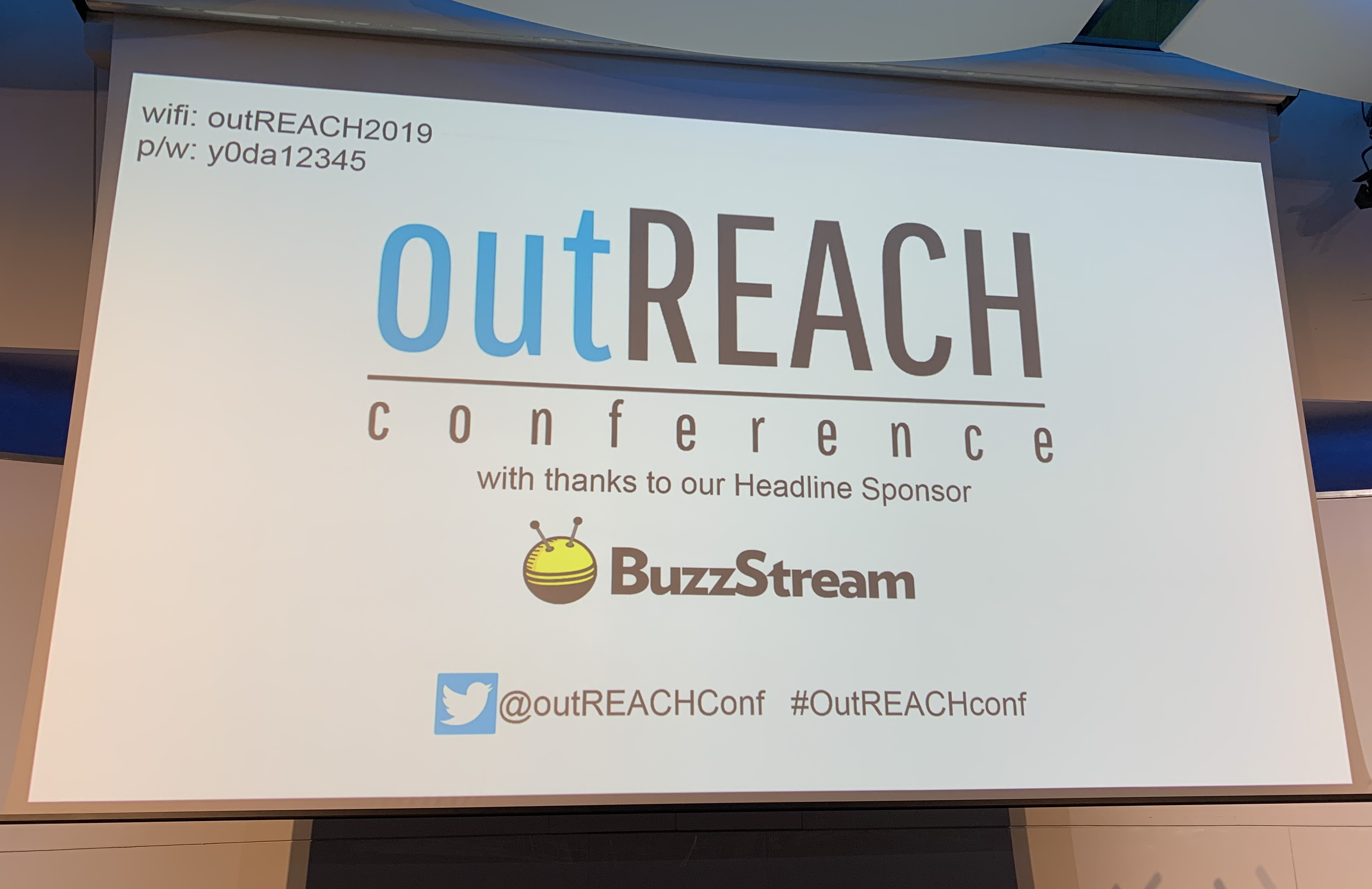 outREACH conference in London