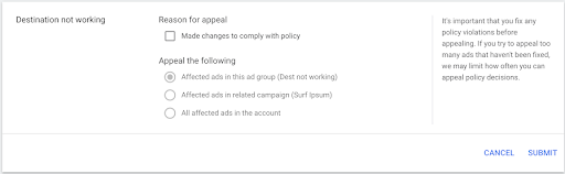 Google Ads Update The Appeal Process