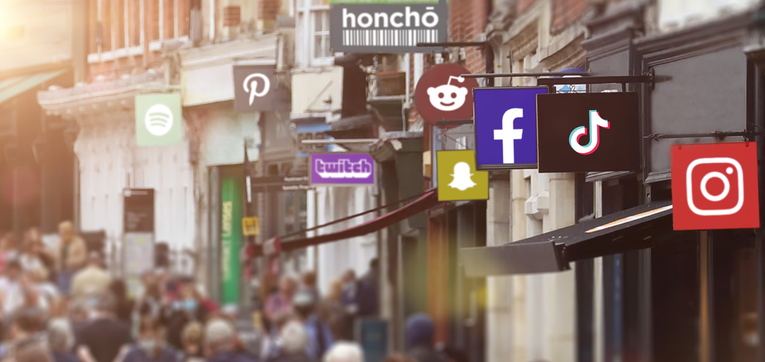 Are we rebuilding the high street on social media?